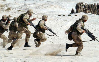 Jedzie armia przez wieś…