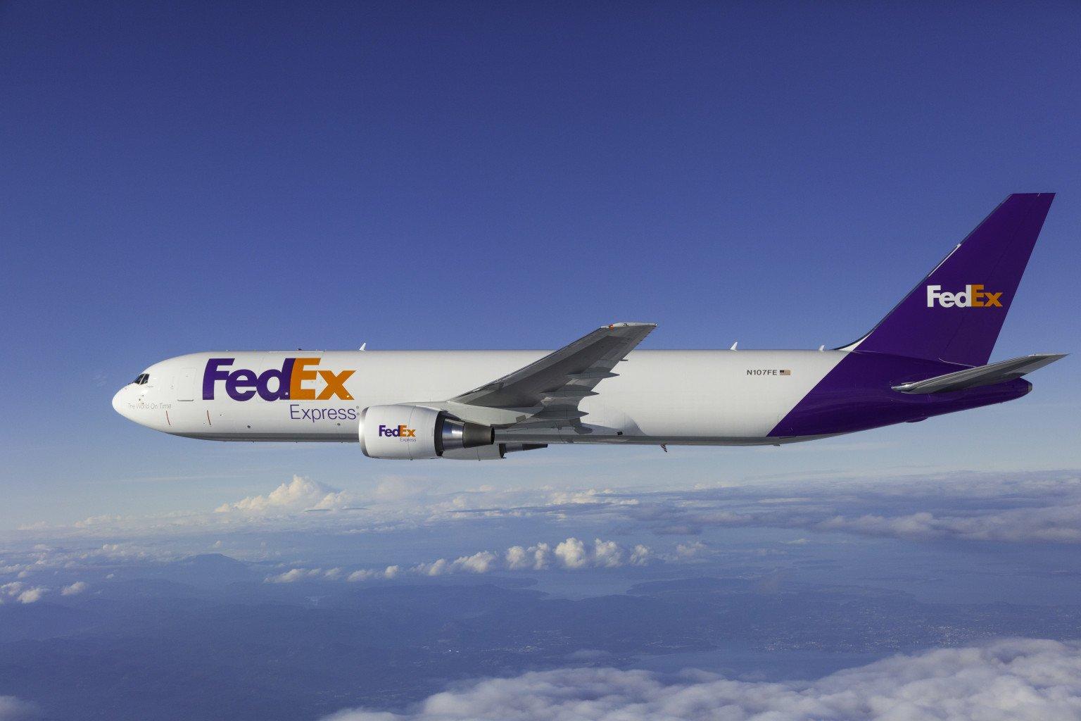FedEx Boeing 767 freighter N107FE